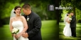 Bride and Groom Portraits at St. Mary of Nazareth in Des Moines