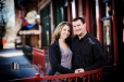 Perfect Engagement Photos in Downtown Des Moines